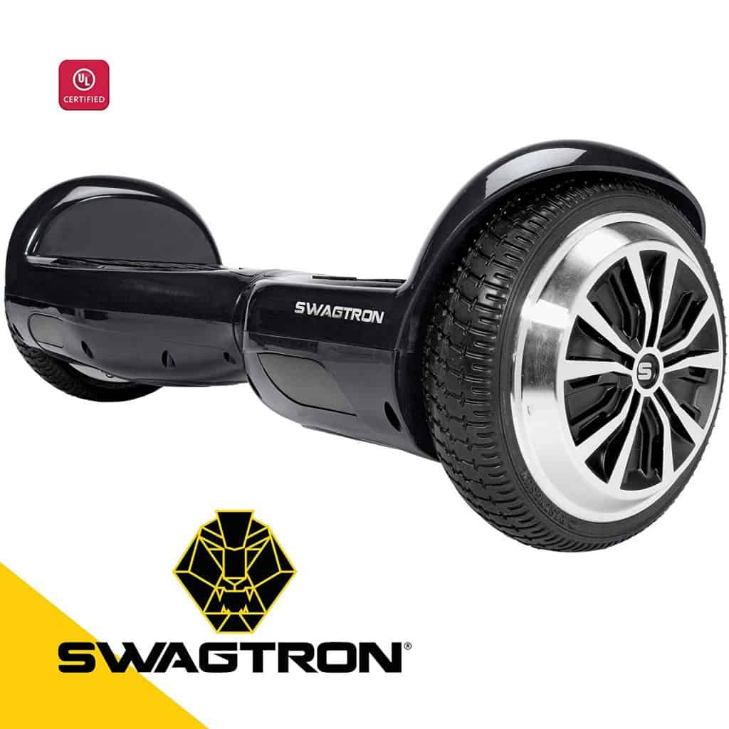 Swagtron electric self balancing scooter.
