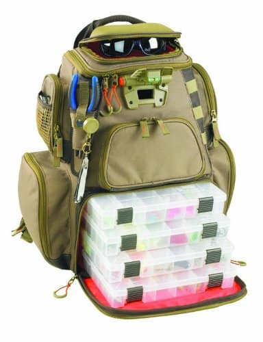Wild river tackle backpack.