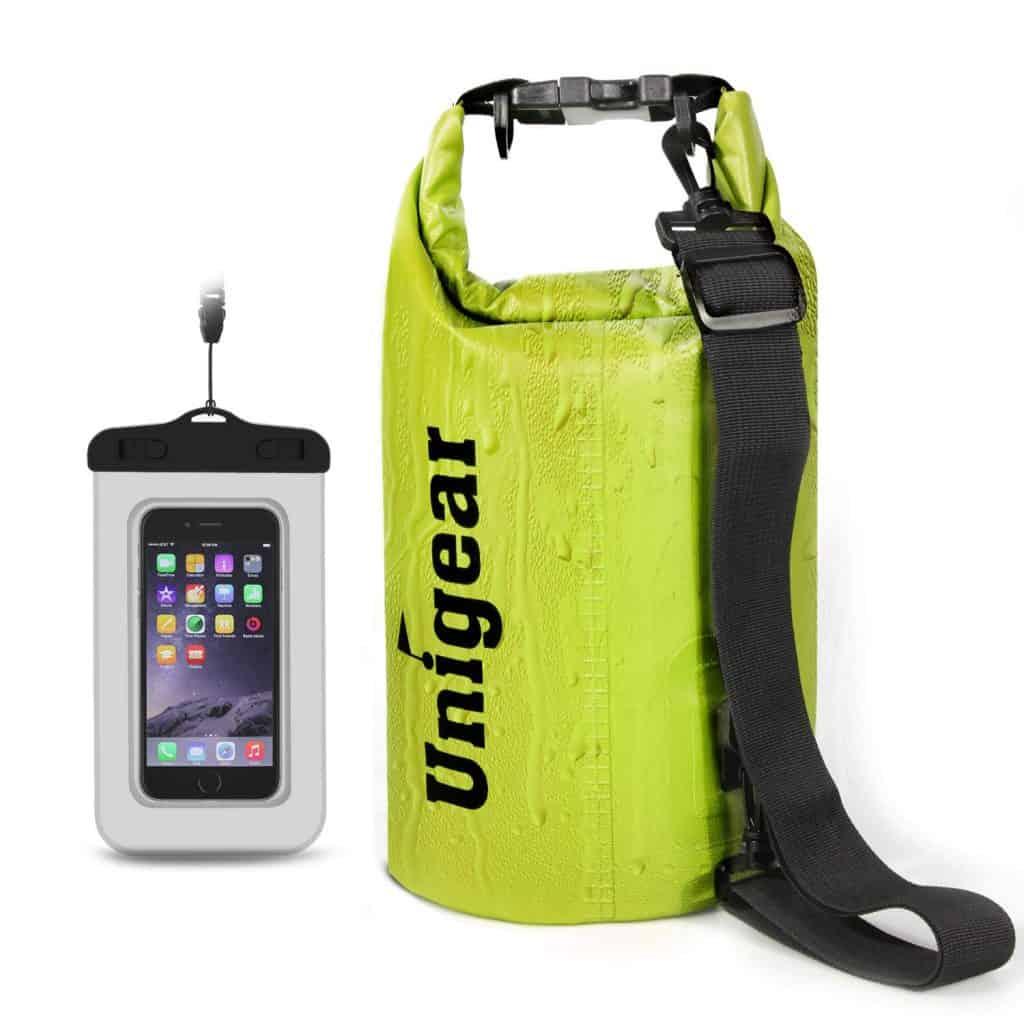 Dry bag sack waterproof bag.