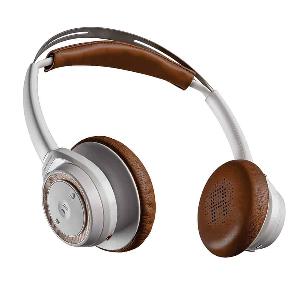 Plantronics bluetooth headphones.
