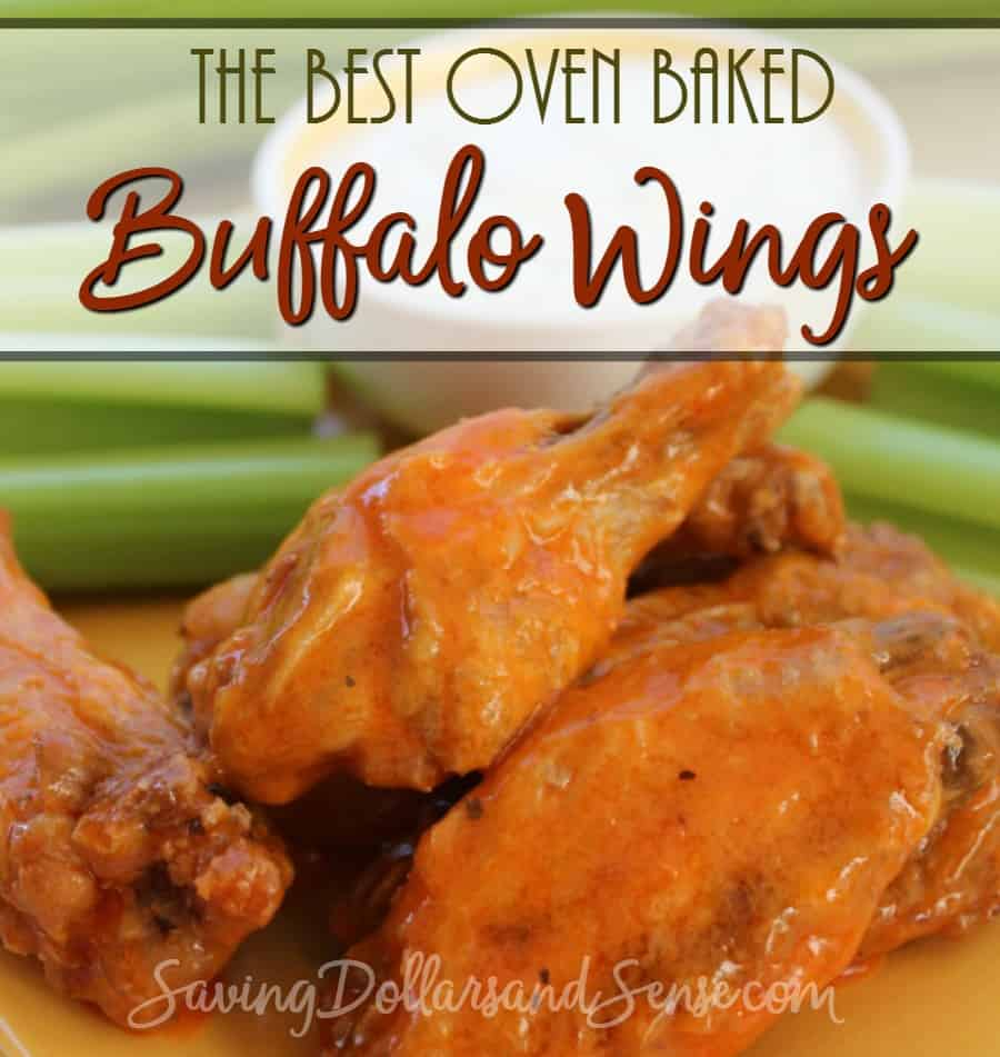 Best Oven Baked Buffalo Wings