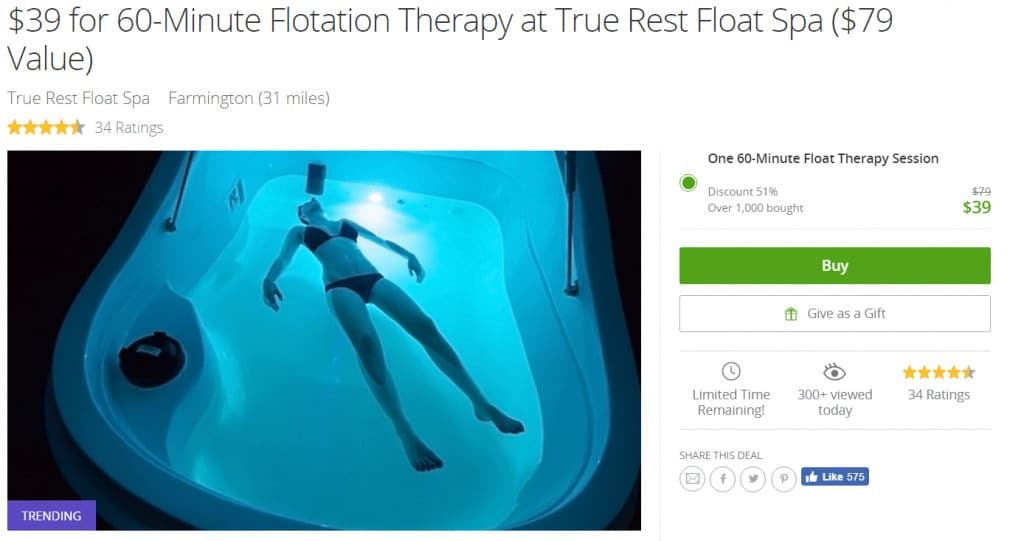 My Completely Honest Float Tank Review