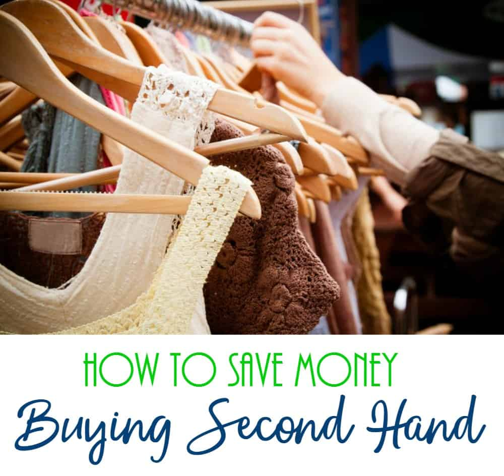 How to Save Money Buying Second Hand