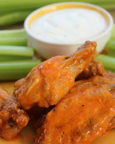 No Fry Buffalo Wings Recipe