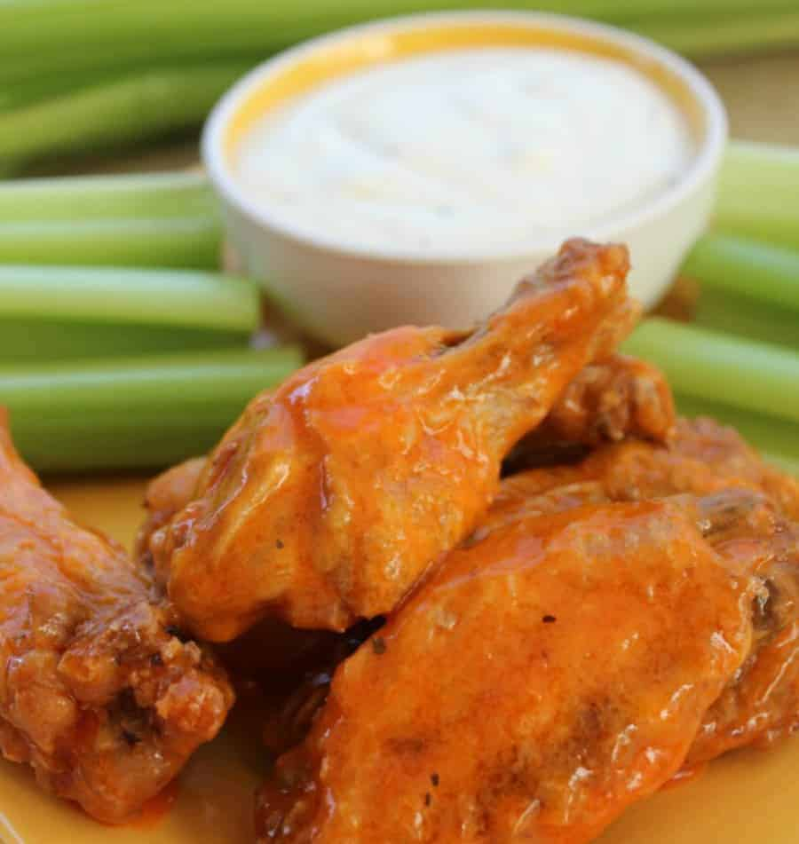 Best Oven Baked Buffalo Wings Recipe