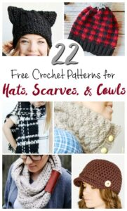 22 Free Crochet Patterns Beginners Will Love to Make