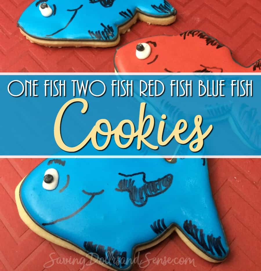 One Fish Two Fish Cookies