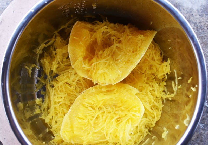 how to cook spaghetti squash in a pressure cooker