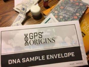 GPS Origins DNA Test Results