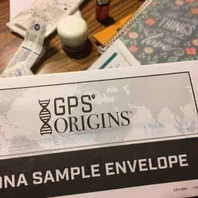 GPS Origins DNA Test Results