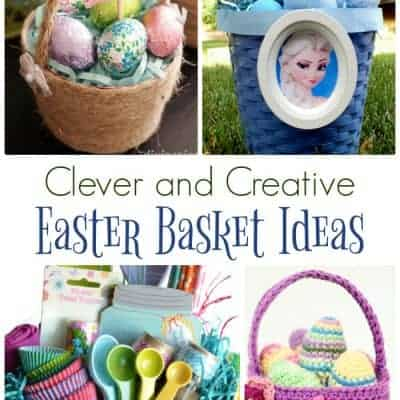 homemade easter basket ideas