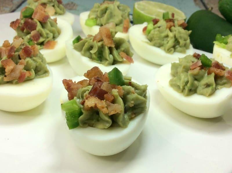 Avocado Deviled Egg Recipe