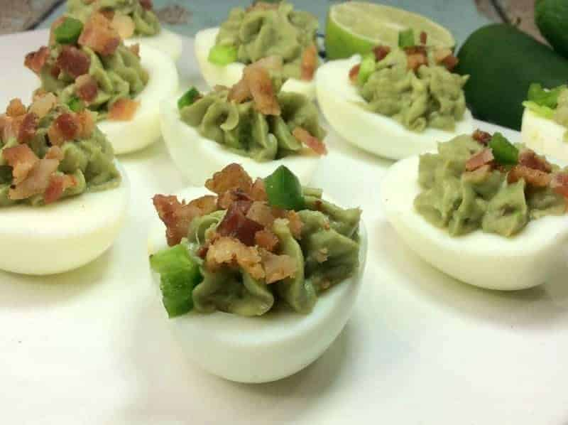 Avocado Deviled Egg Recipe
