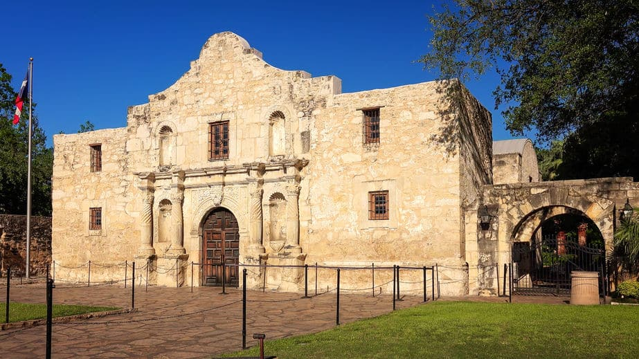 The alamo educational vacation