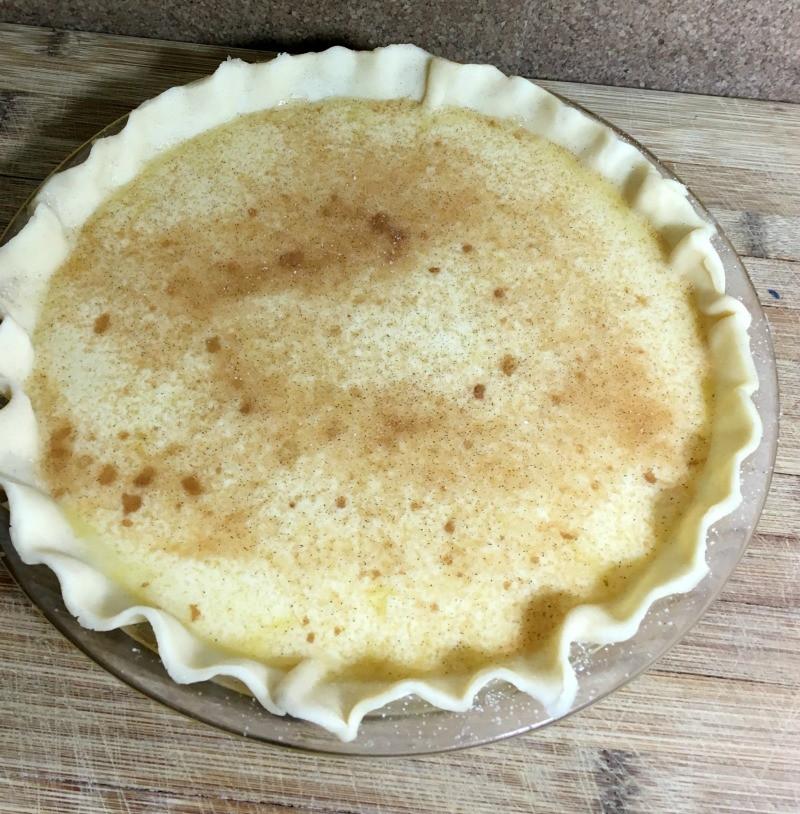 egg cream pie crust