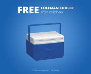 Free Coleman Cooler From Walmart