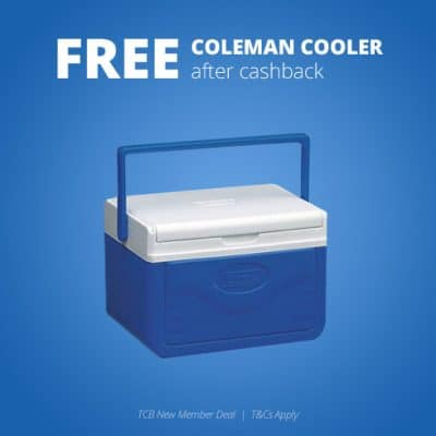 Free Coleman Cooler