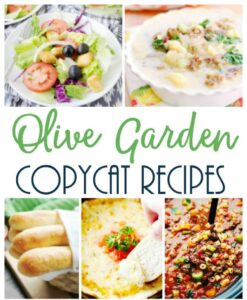 Copycat Olive Garden Recipes
