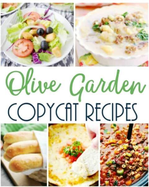 The Best Copycat Olive Garden Recipes