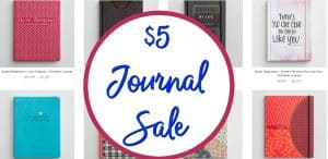 DaySpring $5 Journal Sale