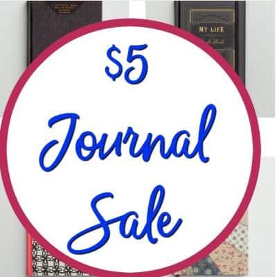 DaySpring $5 Journal Sale