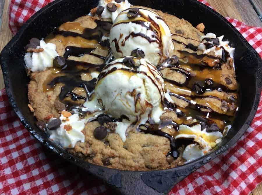 Cast Iron Skillet Cookie Recipe