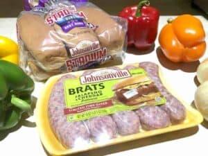 Celebrating  National Bratswurst Day With Johnsonville.
