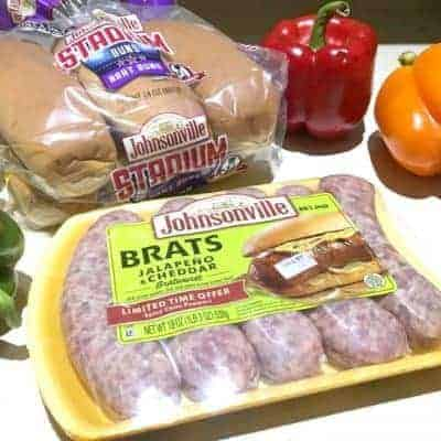 Celebrating  National Bratswurst Day With Johnsonville.