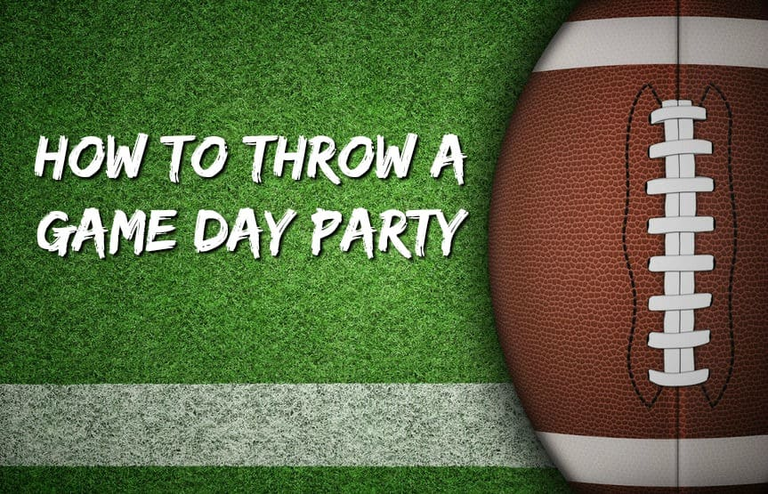 game day party theme