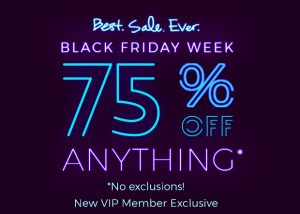 Fabletics 75% off Everything