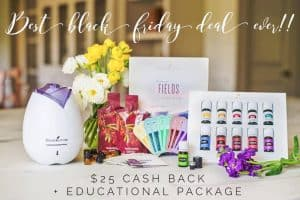 Black Friday Essential Oil Freebies Deal