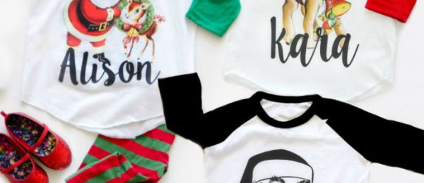 Kids Personalized Holiday Tees $13.99