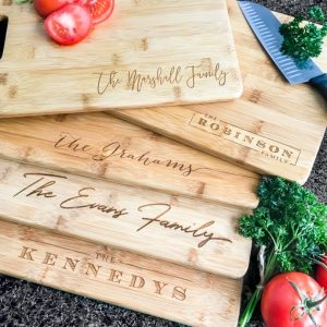 Personalized Bamboo Cutting Boards $15.99 (Was $59.99)