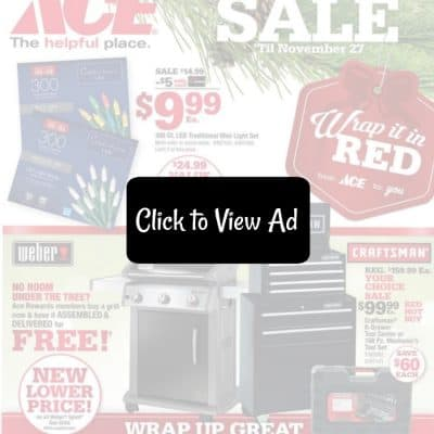 Ace Black Friday Ad Scan
