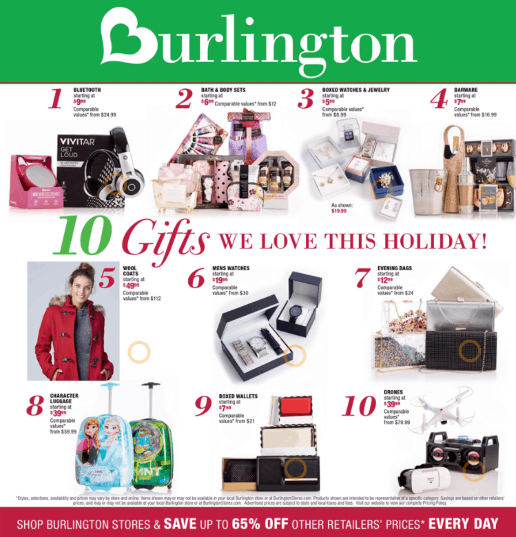 Burlington Black Friday Ad Scan