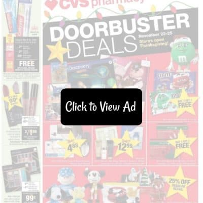 CVS Black Friday Ad Scan