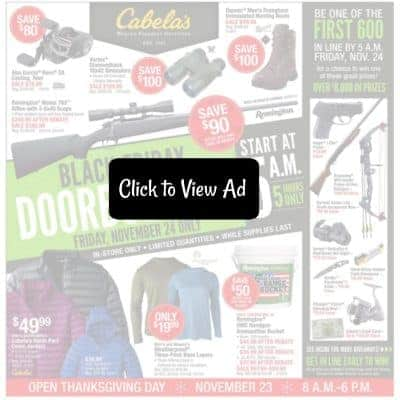 Cabelas Black Friday Ad Scan