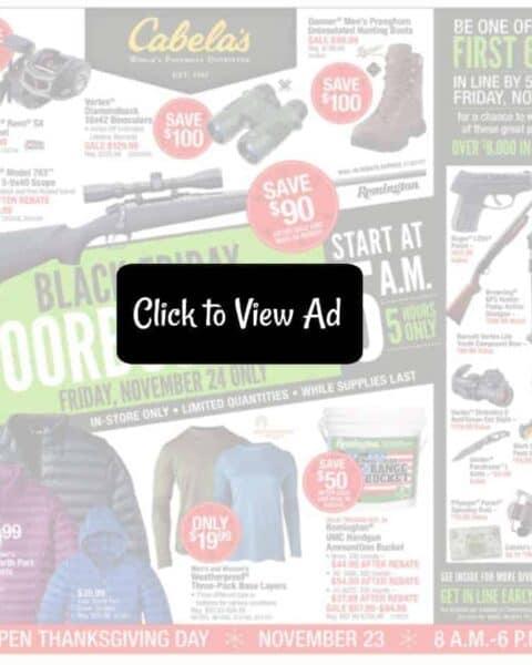 Cabelas Black Friday Ad Scan