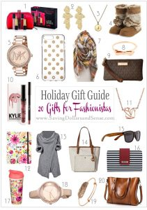 Gift Guide for Fashionistas