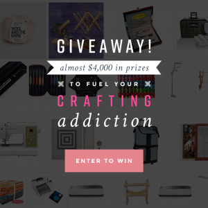 Crafters Dream Giveaway $4000 in Prizes (20 Winners)