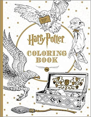 Harry Potter coloring book.