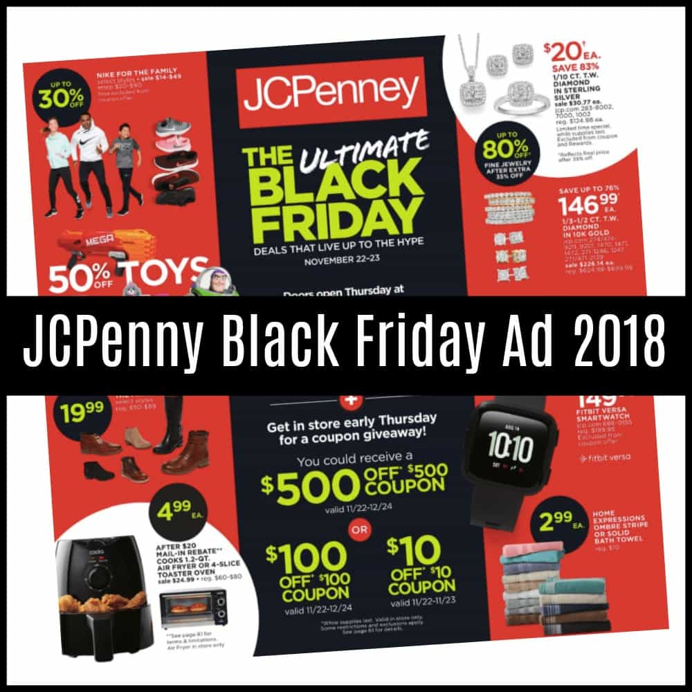 jcpenny black friday sales 2018 just released saving dollars sense. Black Bedroom Furniture Sets. Home Design Ideas