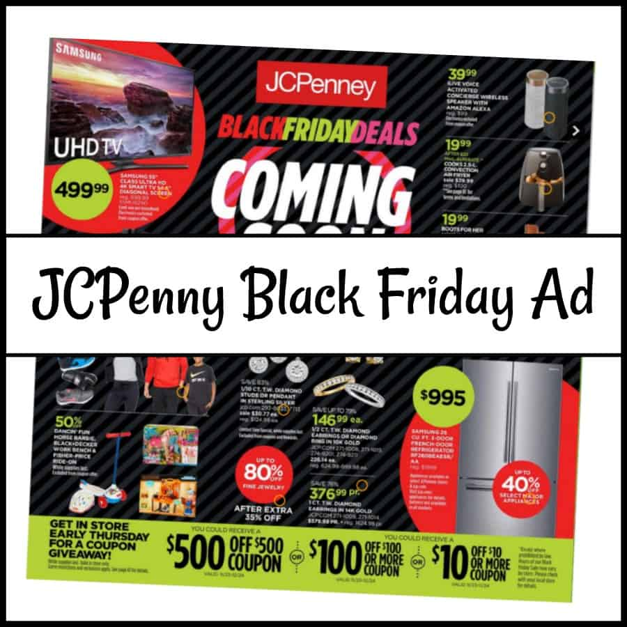 JCPenny Black Friday Sale