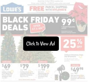 Lowes Black Friday Sales 2017 (Just Released!)