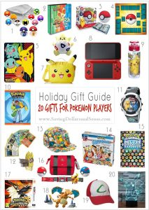 Pokemon Player Gift Guide - DOLLARS AND SENSE