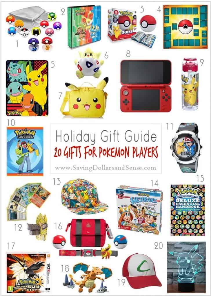 Pokemon Player Gift Guide - DOLLARS AND SENSE