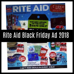 Rite Aid Black Friday Sales 2018 (Just Released!)