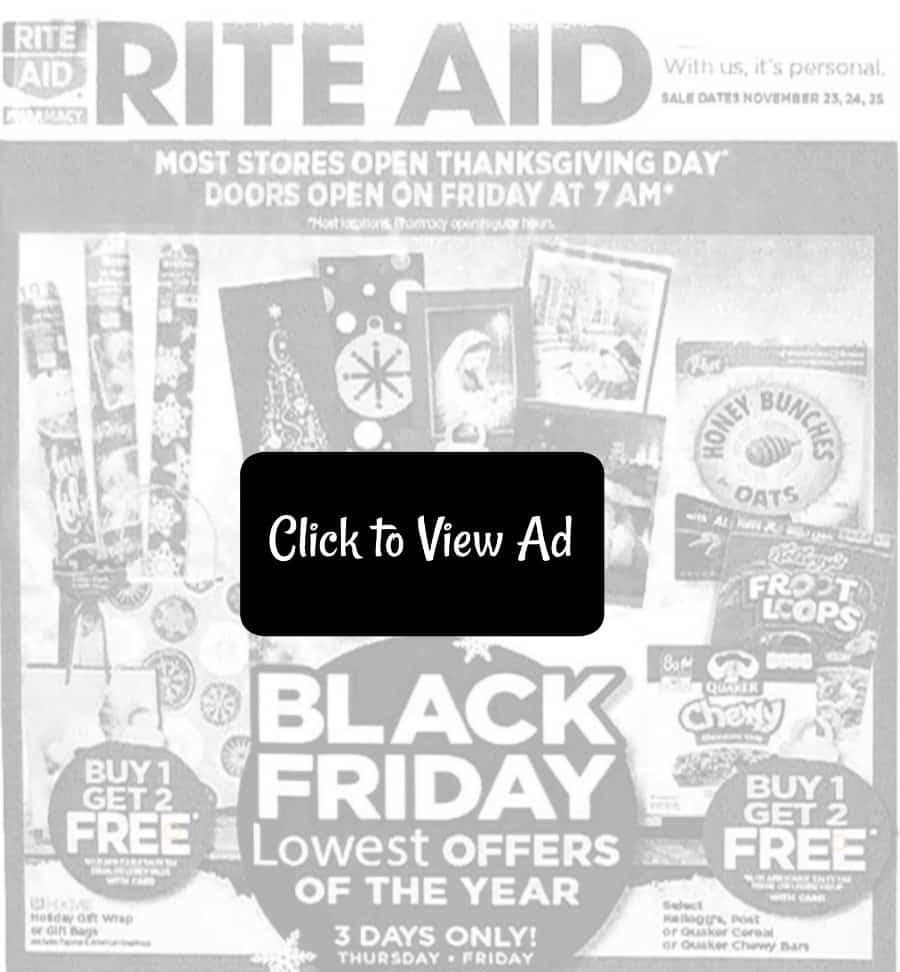 Rite Aid Black Friday Sales 2017 (Just Released!) - Saving Dollars ...