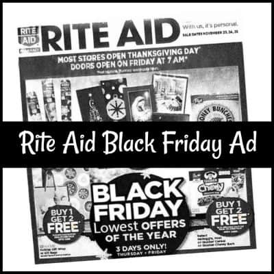 Rite Aid Black Friday Sales