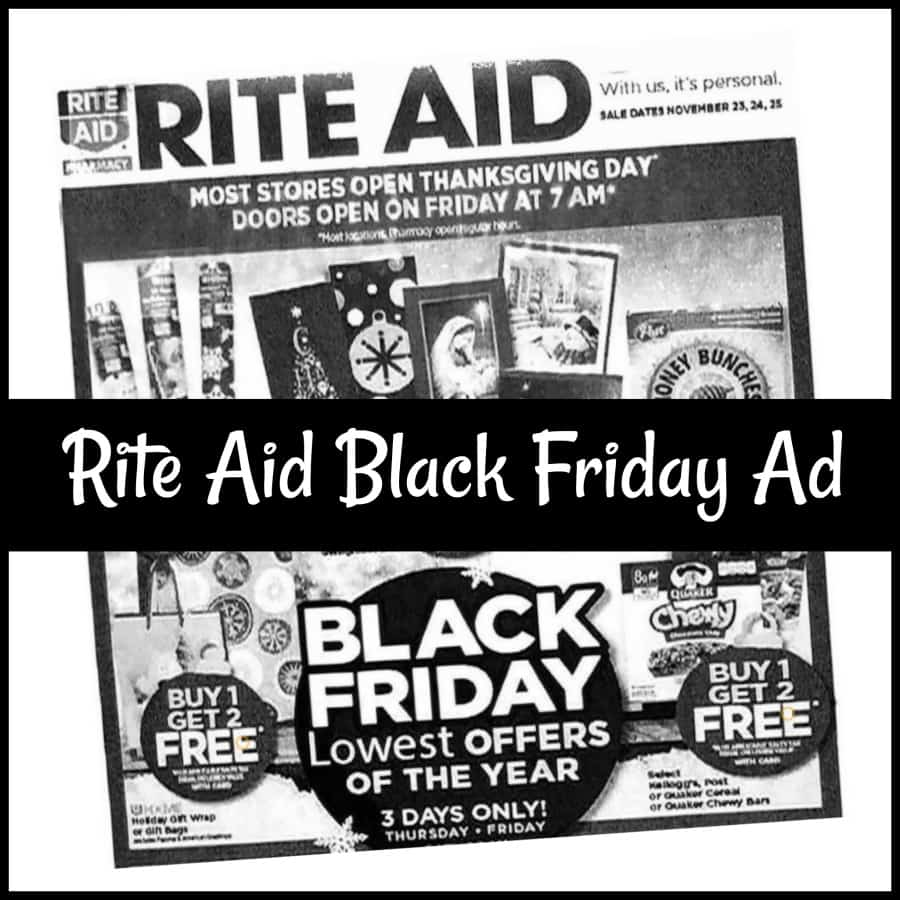 rite aid black friday sales 2017 just released saving dollars sense. Black Bedroom Furniture Sets. Home Design Ideas